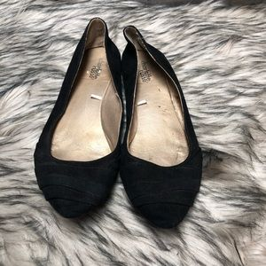 Charlotte Russe Size 9 Womens Black Flats Loafers